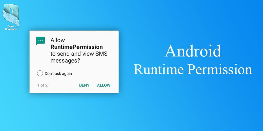آموزش Runtime Permission در اندروید